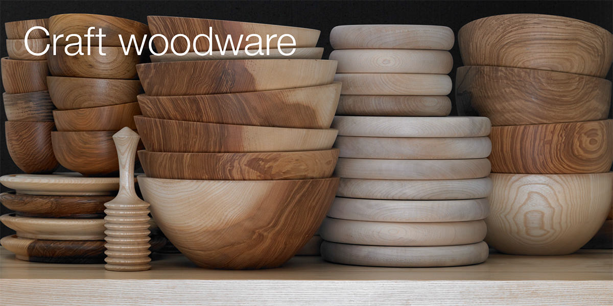 Craft woodware ranges