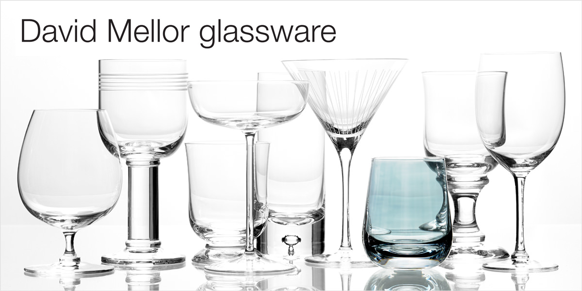 David Mellor glassware