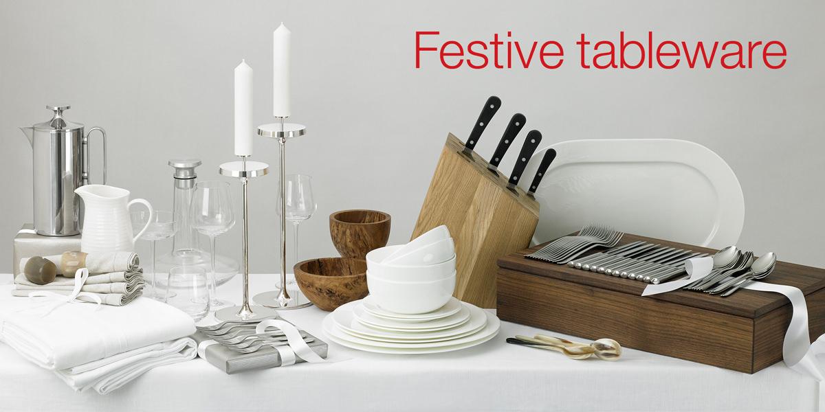 Festive tableware