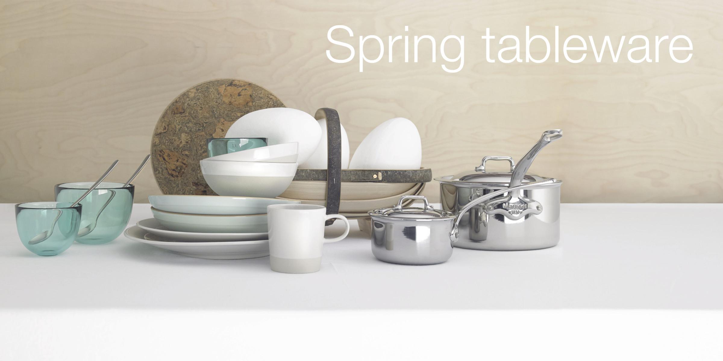 Spring tableware