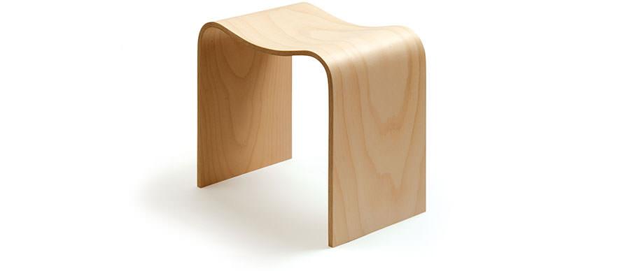 Corin Mellor plywood stools