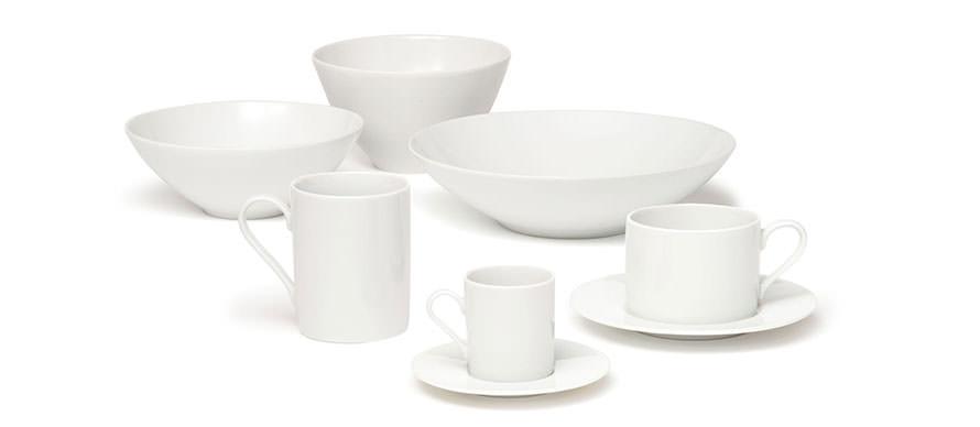 Dine white porcelain