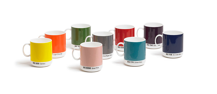 David Mellor British Standard mugs