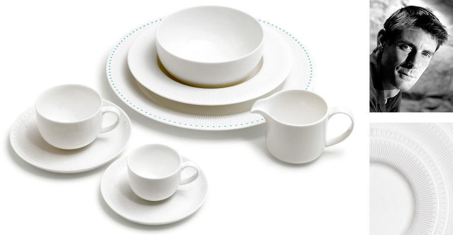 David Mellor 'Deco' fine bone china