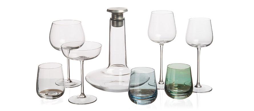 David Mellor Embassy glassware