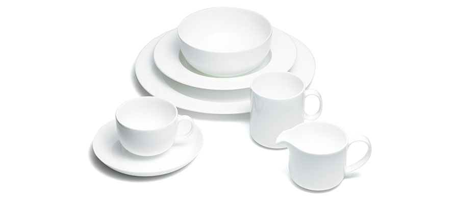 David Mellor fine bone china