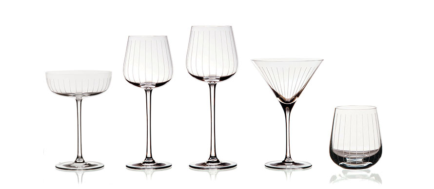 David Mellor Flute glassware