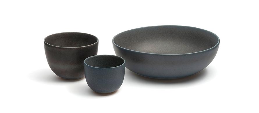 Franco Bucci ceramic bowls