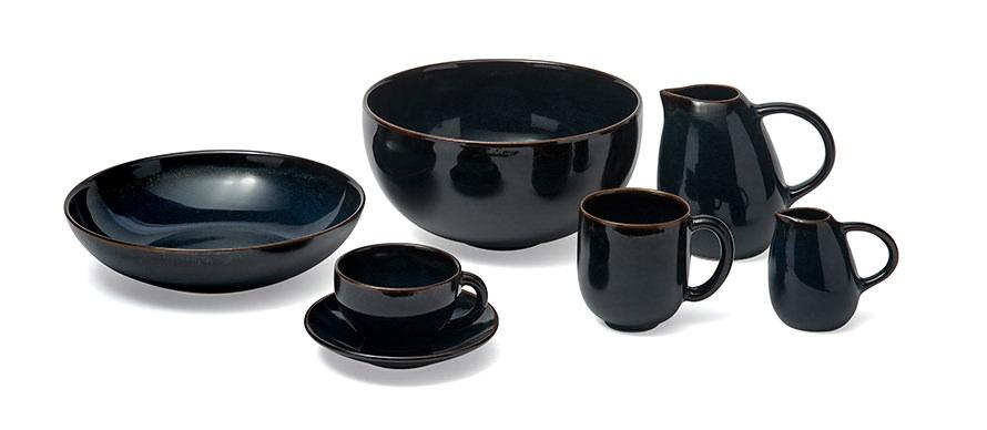 Jars Tourron French glazed stoneware