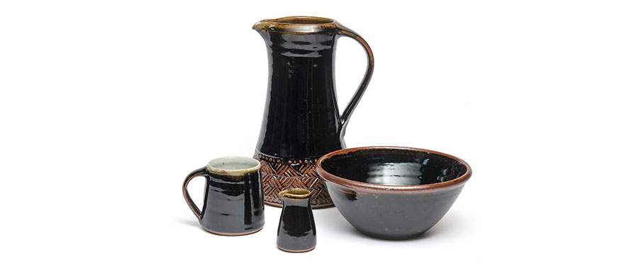 Tenmoku by Leach pottery from St. Ives