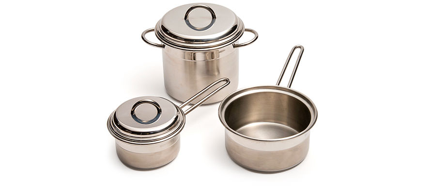 Le Pentole stainless steel