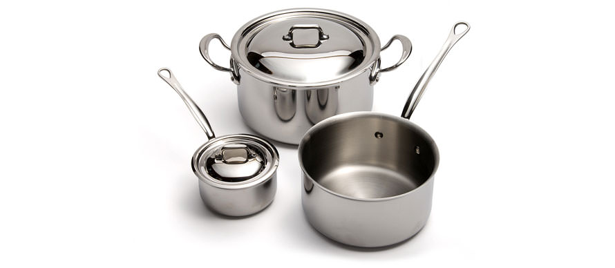 Mauviel M'Cook stainless steel