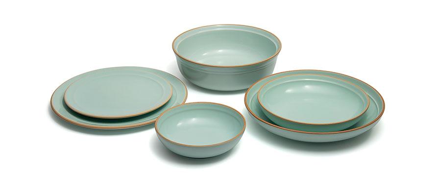 Montefeltro Menta pottery